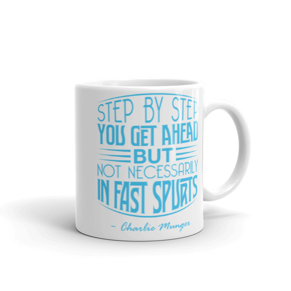 Mug with Charlie Munger Quote