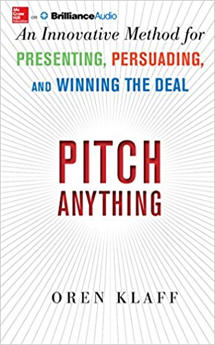 Pitch anything -- Summary